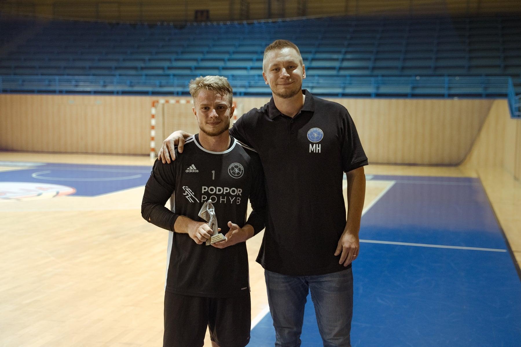 Marek Kušnír ako najlepší brankár turnaja